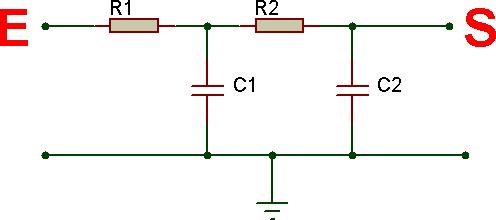 Fonction de transfert filtre second ordre