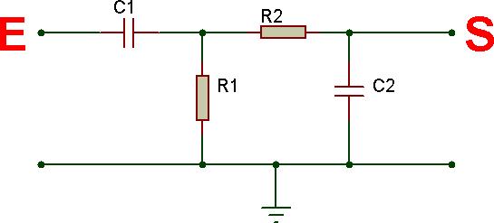 Schema filtre rc